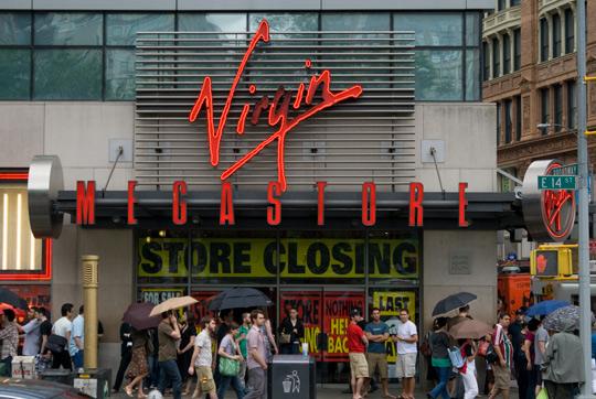 Virgin Megastore, 6046692289, Vancouver BC, Records